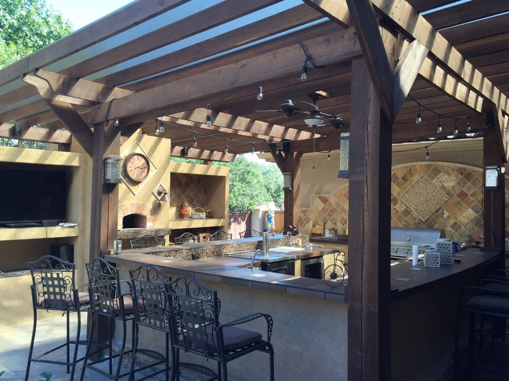 outdoor kitchen remodel in San Diego